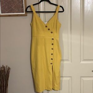 """Sunshine"" Midi Dress"